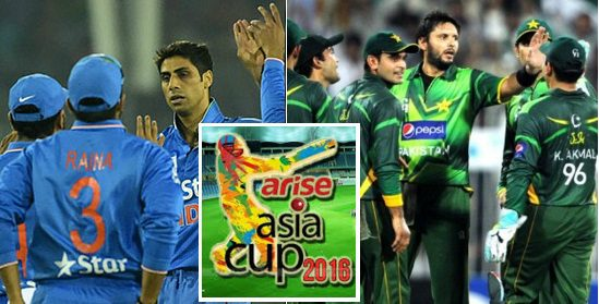 India vs Pakistan Highlights Asia Cup 2016