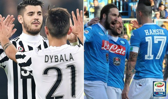 Juventus vs Napoli Live Stream Highlights