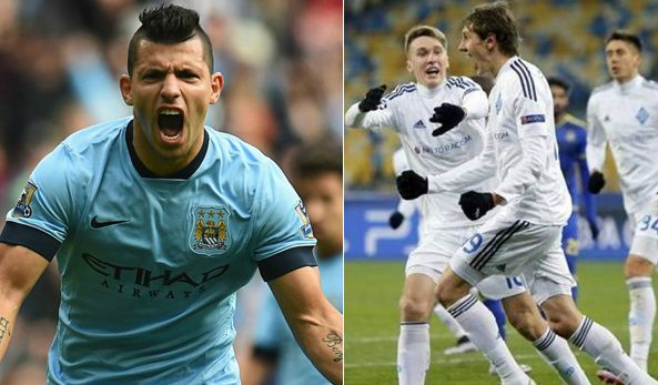 Man City vs Dynamo Kiev Live