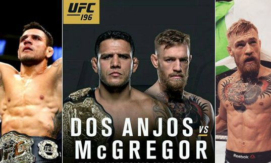 McGregor vs Dos Anjos Purse payouts