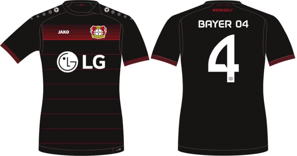 New Bayer Leverkusen 2016-17 kit released