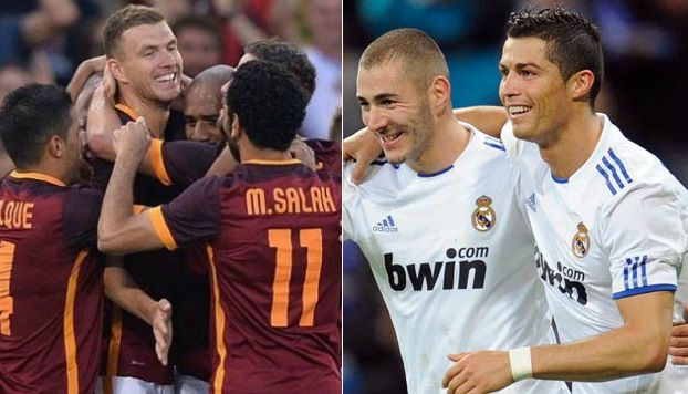Roma vs Real Madrid Match Highlights