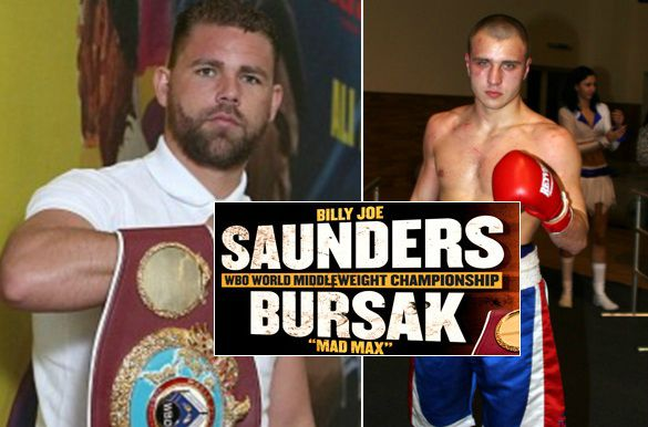 Billy Joe Saunders vs Max Bursak live stream