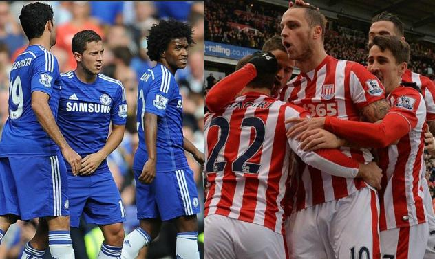 Chelsea Stoke Highlights