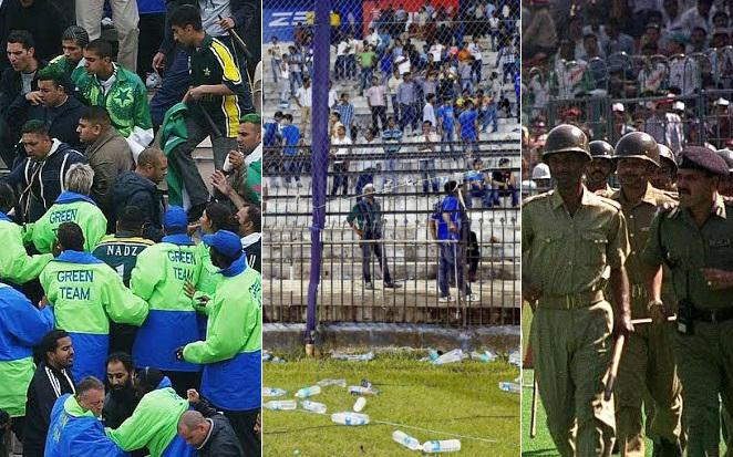 Crowd trouble incidents in cricket history