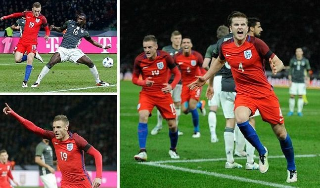 England 3-2 Germany Highlights