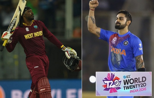 India vs West Indies Live highlights 2016 world t20