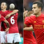 Manchester United 1-1 Liverpool (Ibrahimovic late second half strike help share the spoils)