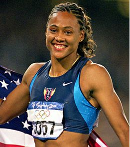 Marion Jones drug test failed