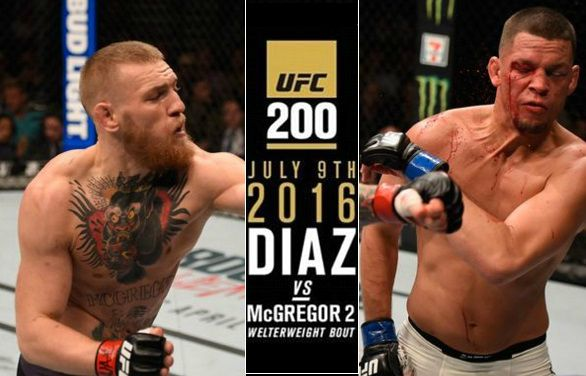 McGregor vs diaz rematch tickets date announced