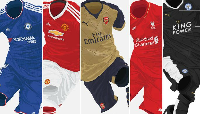 Most Valuable Premier League Kit deals