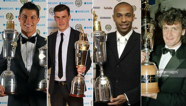 PFA Player of the year award past winners