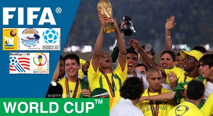 Brazil is th most successful team in Football World Cup history having won 5 titles