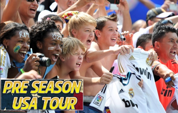 Real Madrid pre-season tour confirmed