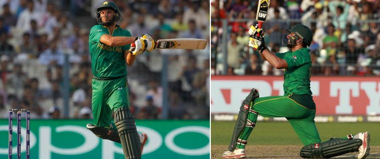 Shahid Afridi scored 49 runs of just 18 balls and took two wickets as Pakistan ease past Bangladesh in World T20 match