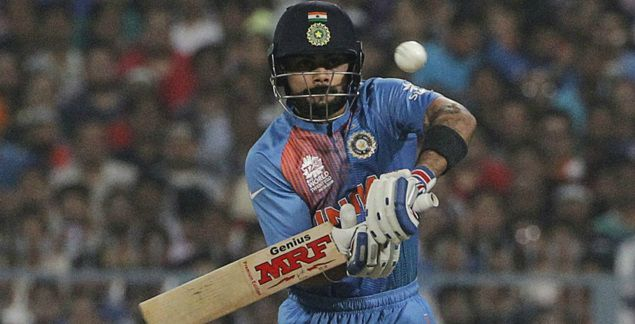 Virat Kohli 55 helps India beat Pakistan yet again