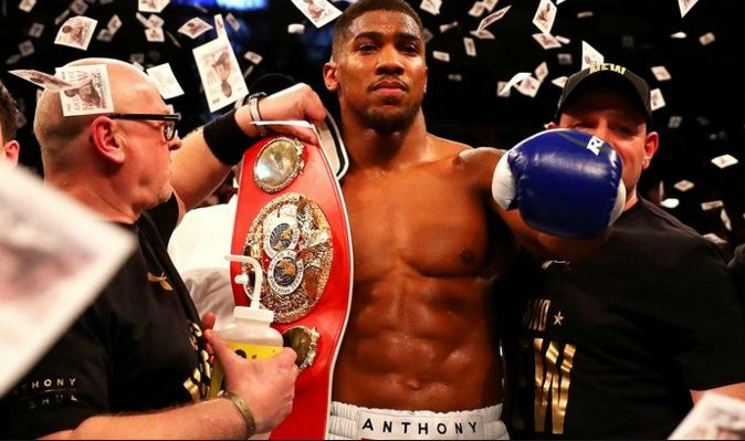 Anthony Joshua next fight date confirmed