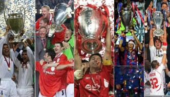 UEFA Champions League Past Winners List (1956 to 2016)