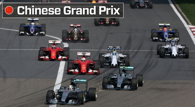 Chinese Formula 1 Grand Prix Highlights