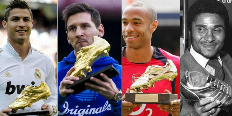 European Golden Boot Winners list