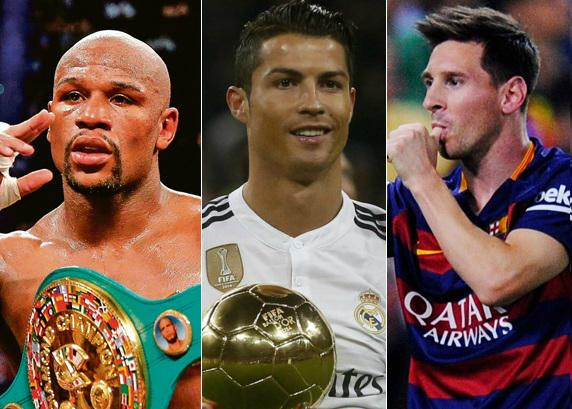 Highest Paid Athletes 2016