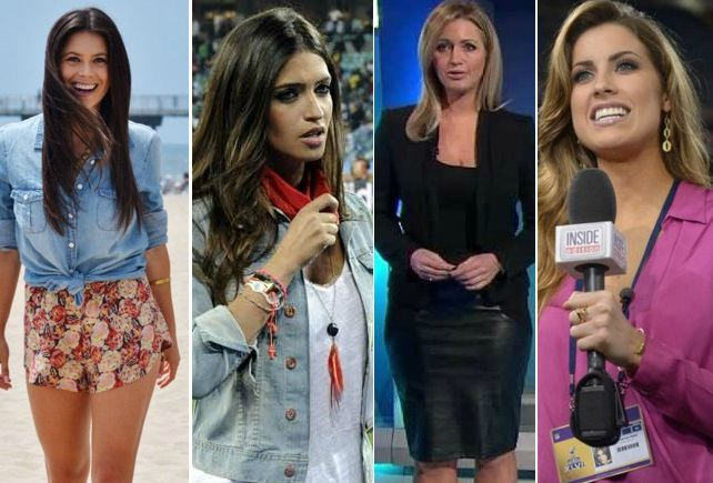 Hottest Female Sports Reporters
