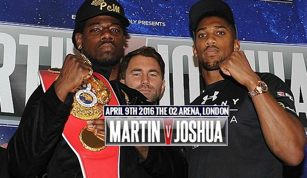 Joshua vs Martin live streaming