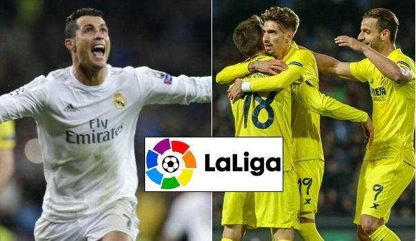Real Madrid vs Villarreal Highlights 2016
