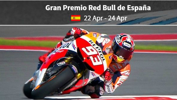 Spanish MotoGP live highlights