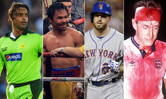 Top Athletes who played with Injuries
