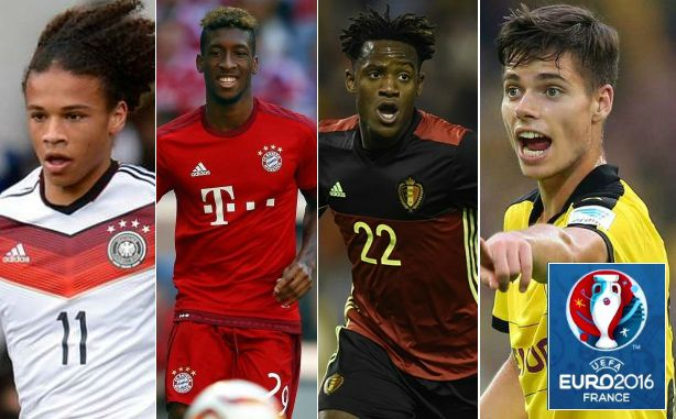 10 Highly Rated youngsters in Euro 2016