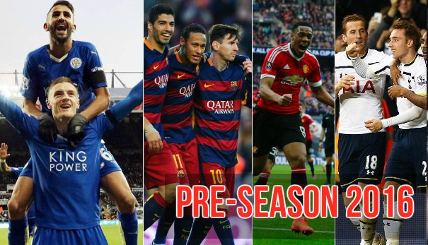 Best pre-season matches 2016