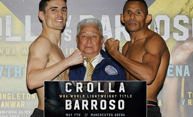 Crolla vs Barroso Live stream highlights