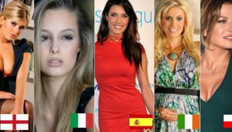 24 Hottest Wags Going To UEFA Euro 2016 (Every Country)