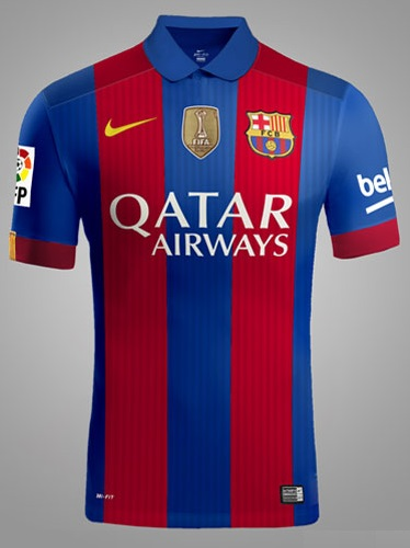FC Barcelona 2016-17 home kit 1