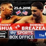 Joshua vs Breazeale live stream