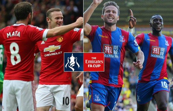 Manchester United Crystal Palace Highlights FA Cup