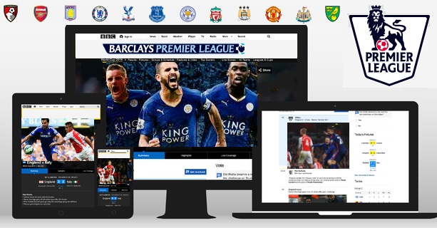 Mobile internet streams of Premier league from 2016-17 season