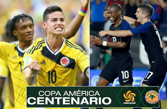 USA vs Colombia live stream Highlights copa america