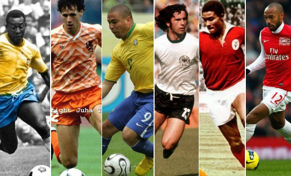 greatest strikers of all times