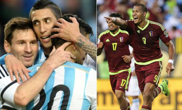 Argentina vs Venezuela Highlights Video