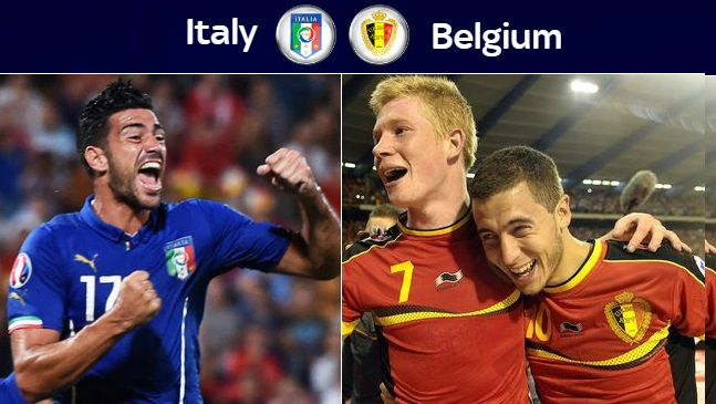 Belgium vs Italy Highlights