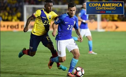 Brazil vs Haiti Highlights 2016 Copa America