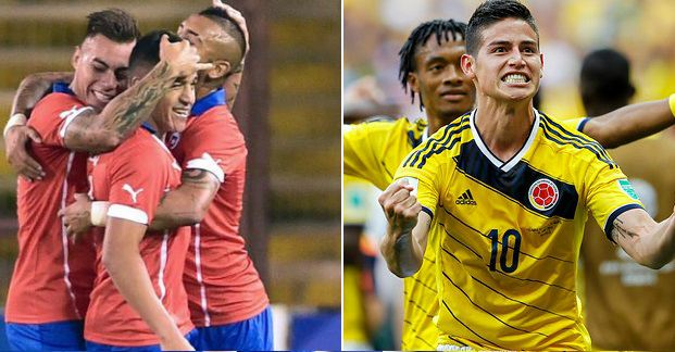Chile vs Colombia Highlights