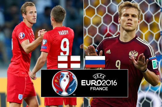 England vs Russia live streaming highlights