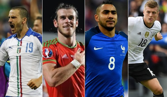 Euro 2016 Best Player of the Tournament Contenders