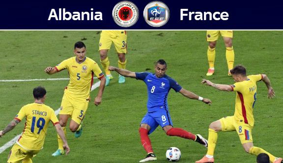 France vs Albania Highlights Euro 2016 video