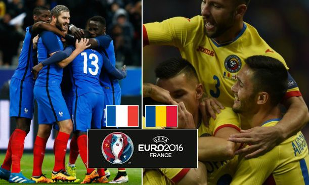 France vs Romania Live Stream Highlights Euro 2016
