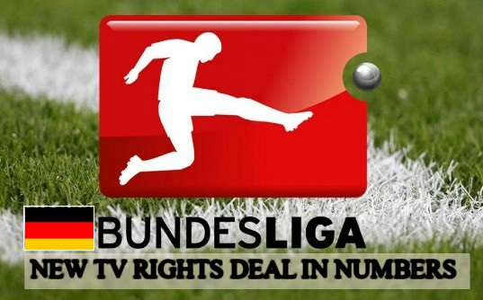 German Bundesliga TV rights deal distribution explained