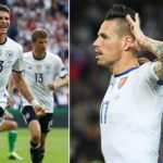 Germany 3-0 Slovakia (Boeteng, Gomez and Draxler on targer as German reach quarterfinals)